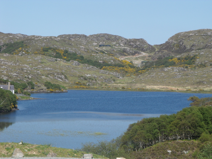 A summer scene of the School Loch