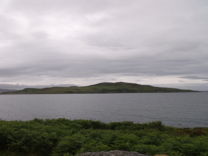 Gruinard Island - the hill is called An Eilid - which means the Hind