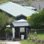 Helen Lambert's wee Tea Garden and candle shop down by the loch