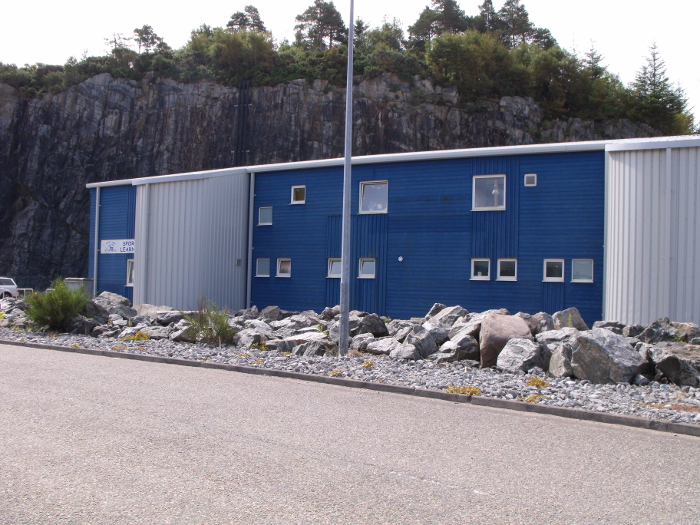 Here is our Leisure Center - small but very compact and a much needed facility in our community!