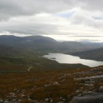 Inchnadamph is just visible at the head of Loch Assynt as you climb ever upwards