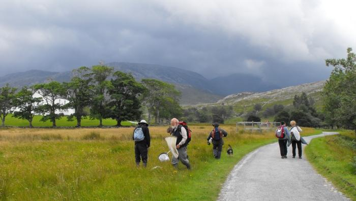 Insect hunters - taken a couple of years ago at our meeting in Inchnadamph