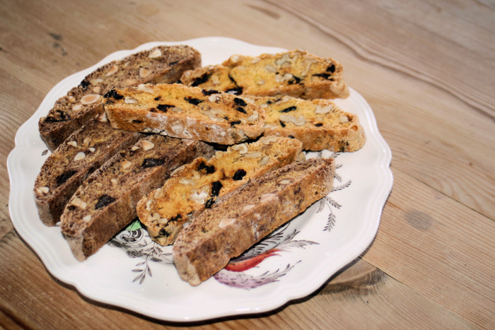 Last but not least, my biscotti!!