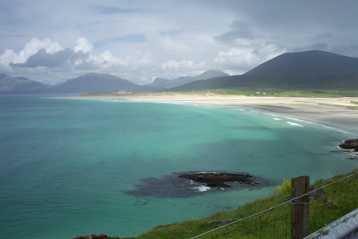 Luskentyre Bay - this picture doesn't do it justice!