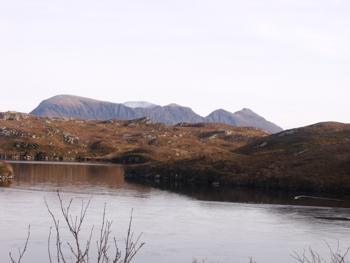 Quineag taken from the road north