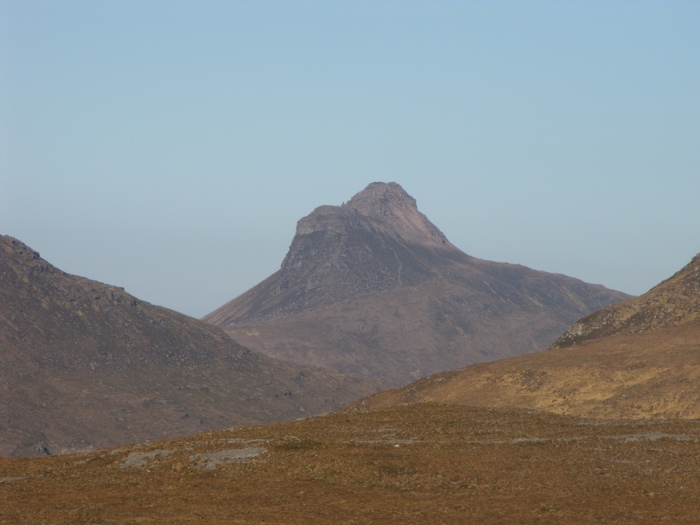 Stac Pollaidh - it always reminds me of a Victorian lady wearing a crinoline!