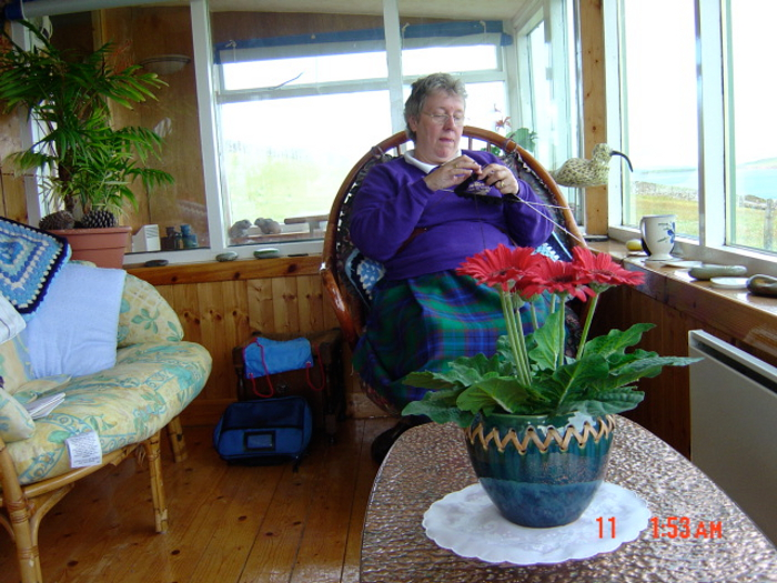 Taken on Orkney in 2006 - just to prove that I really was fat!!