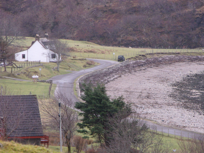 The House in which Norman MacCaig used to stay