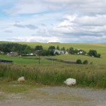 The big farms and fertile fields around the Inverness area