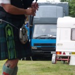 The decoration on this piper's kilt caught my eye