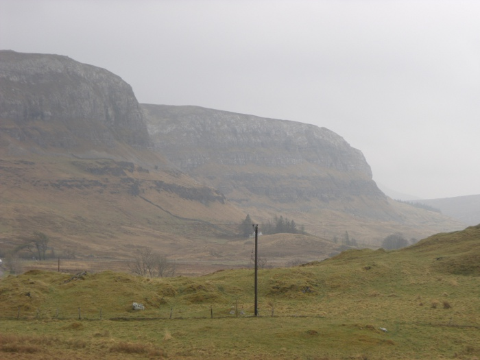 The limestone rock that is Craig Sron Chrùbaidh