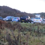 The small car park behind the Village Hall was jam-packed!