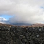 This was all I could get of Cùl Mòr this time - you would never believe there was a big mountain under this cloud!