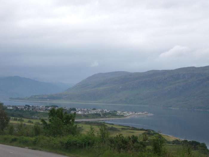 Classic view of the Ullapool village